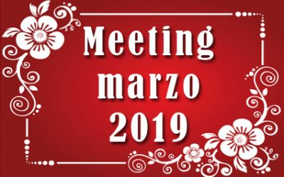 Meeting Marzo 2019