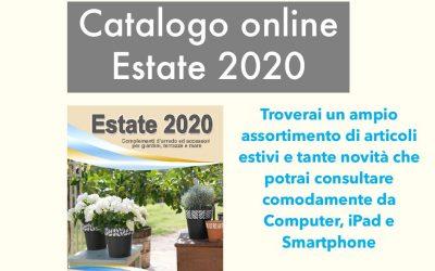 """Sfoglia il nuovo catalogo """"ESTATE 2020"""""""